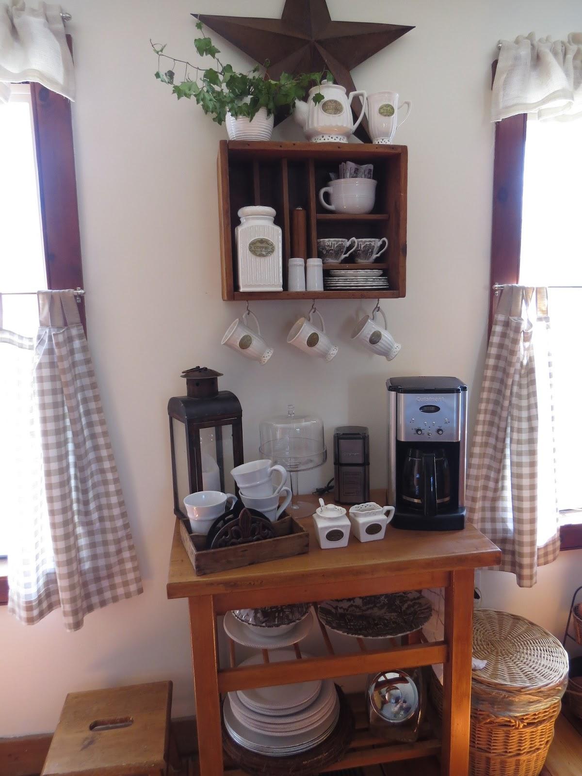 The Long Awaited Home Yard Sale Coffee Bar