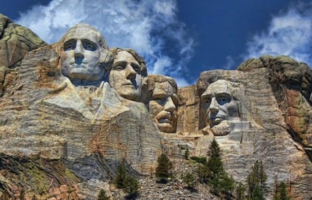 Bukit Rushmore - South Dakota, Amerika Serikat
