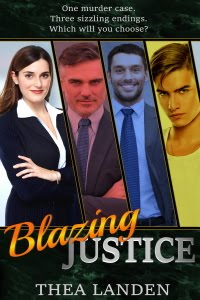 Blazing Justice: A Choose Your Own Romance