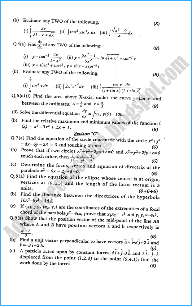 xii-mathematics-past-year-paper-2006