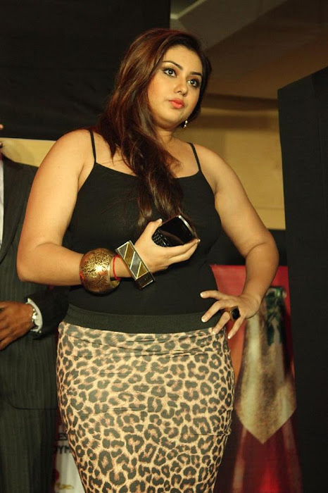 namitha black dress hot photoshoot