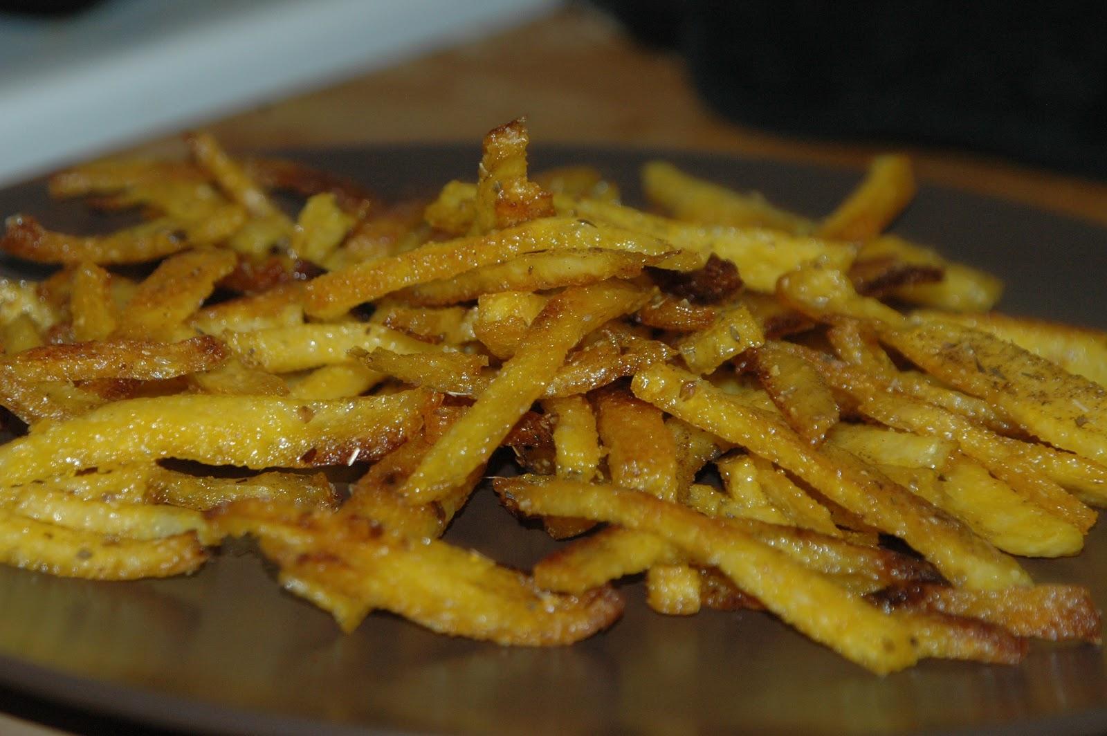 Emily's Cruelty Free Kitchen: Baked Polenta Fries