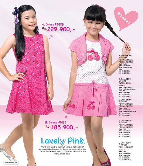 Model baju anak perempuan umur 6 tahun terbaru