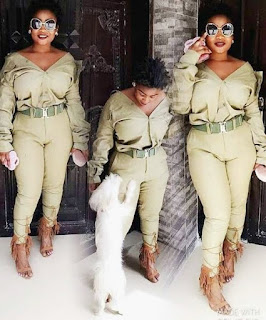 See What This Nigerian 'Slay Queen' Did with Her NYSC Uniform {see the Photos}