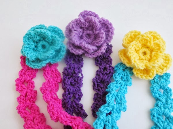 Free Crochet Pattern Flowers Headbands : Crochet Dreamz: Arianna Headband, Free Crochet Pattern for ...