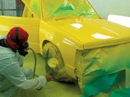 Как покрасить автомобиль.