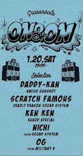 1/20(Sat) ON & ON at GRASS ROOTS