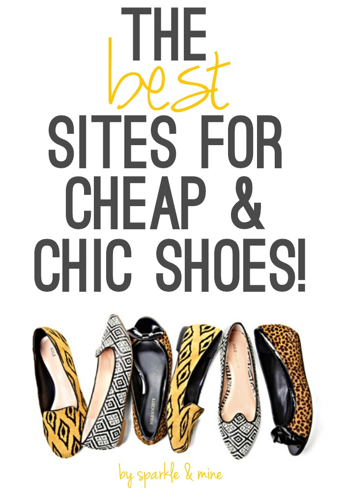 Sparkle mine the best sites to shop for cheap chic shoes for The best cheap online shopping sites