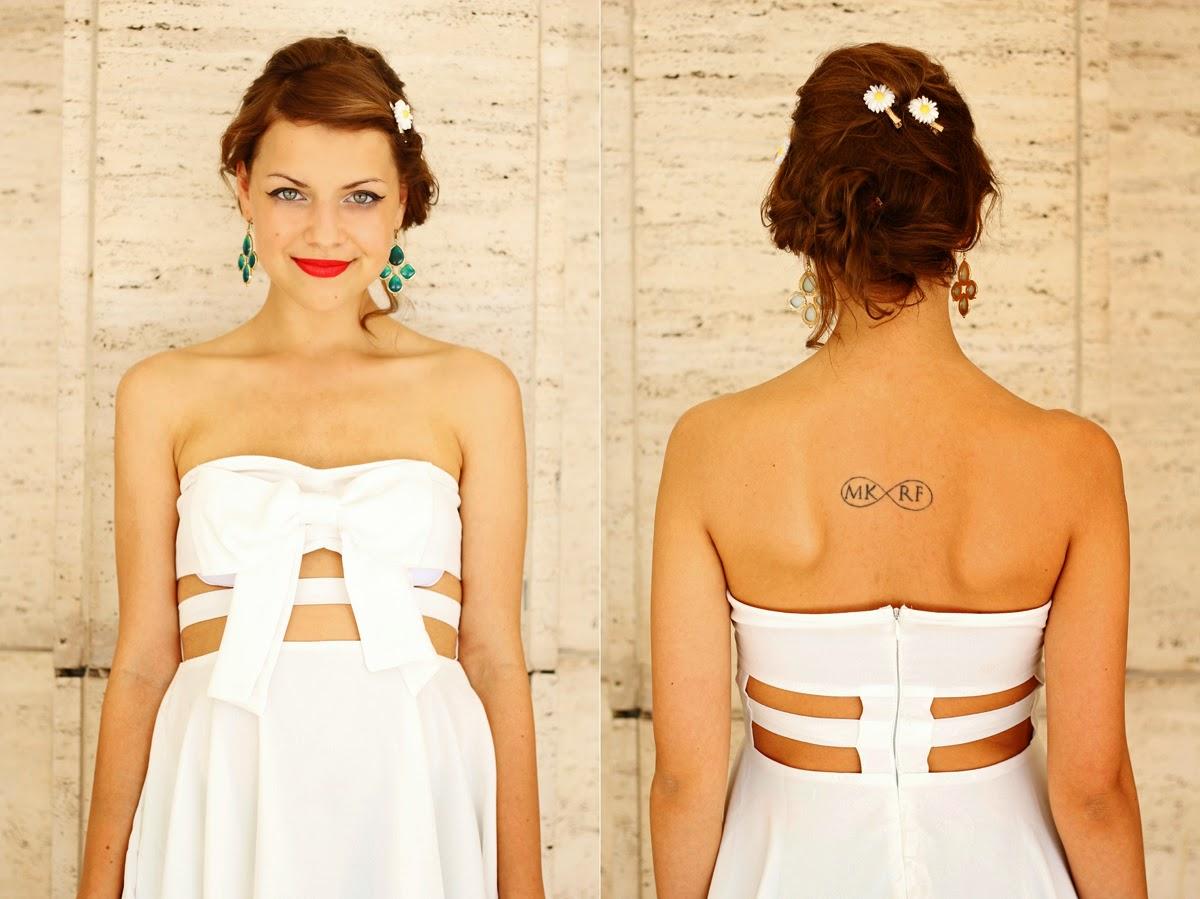 jasmin myberlinfashion white dress lookbook store