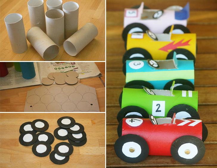 Reciclar Reutilizar Y Reducir Manualidades Con Rollos De Papel - Manualidades-con-rollos-de-papel-higienico