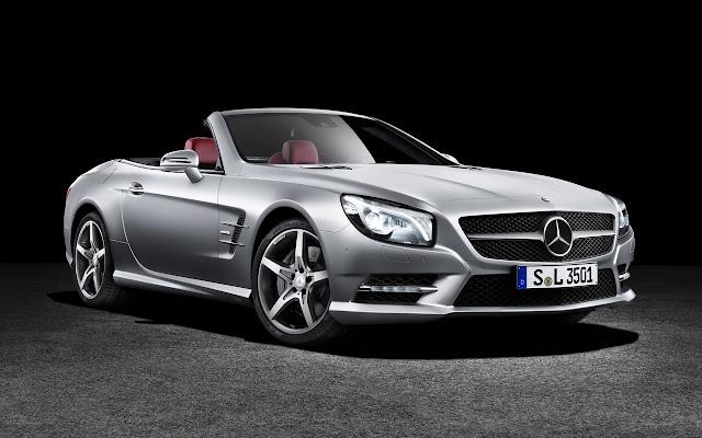 Mercedes-Benz SL front