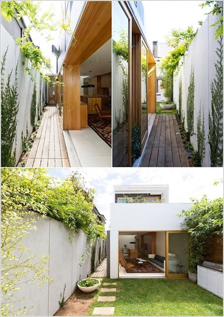 10 ý tưởng thú vị làm đẹp lối đi bên hông nhà