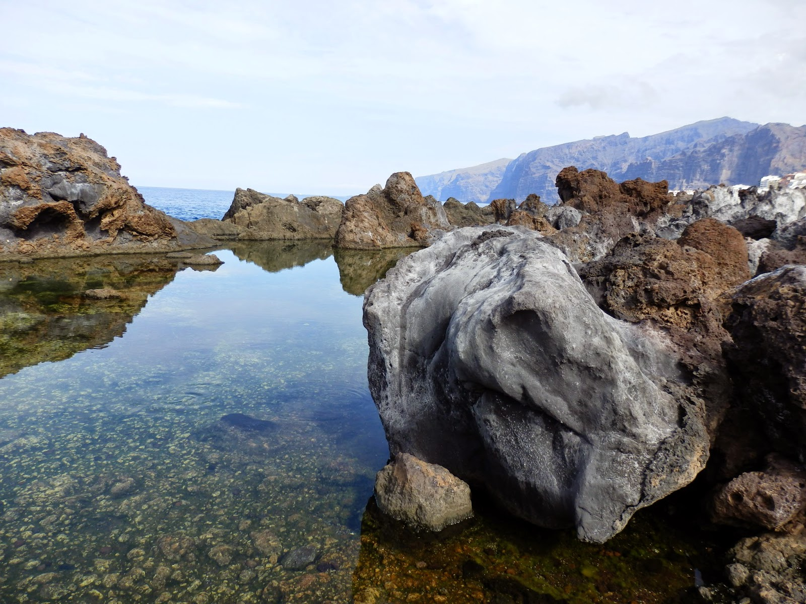 Tenerife rock pools