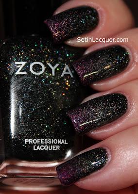 Zoya Storm with Aurora gradient tips