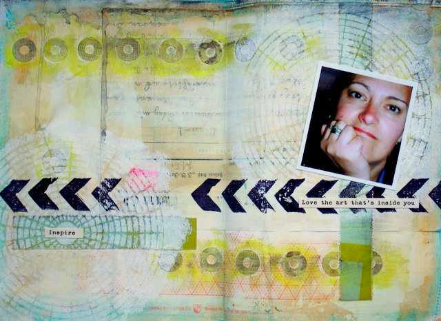 Mixed Media Montag | Designteam-Art Journal von Britta