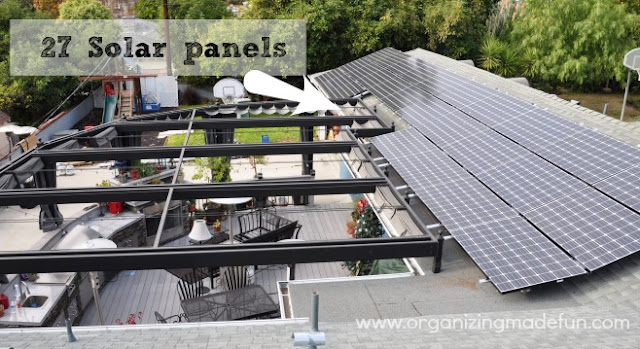 Going solar - we're green! | Organizing Made Fun: Going solar - we're ...