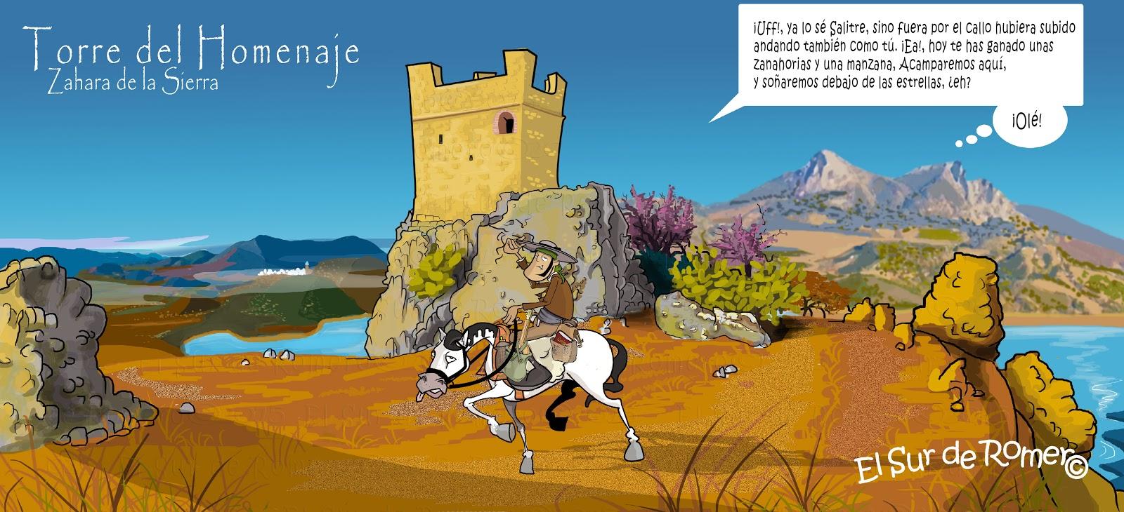 "<img src=""Torre del Homenaje.jpg"" alt=""Dibujos de Zahara de la Sierra""/>"