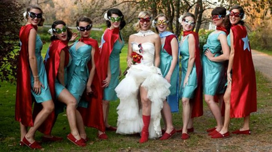 Halloween Wedding Bridesmaid Dreses Shoes Outfits Ideas