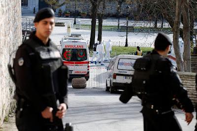 Isztambul, Törökország, öngyilkos merénylő, terrorakció, Hagia Sophia, Sultanahmet