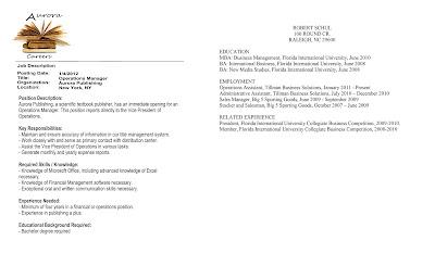 the laundromat writer blog tailoring a resume part 1