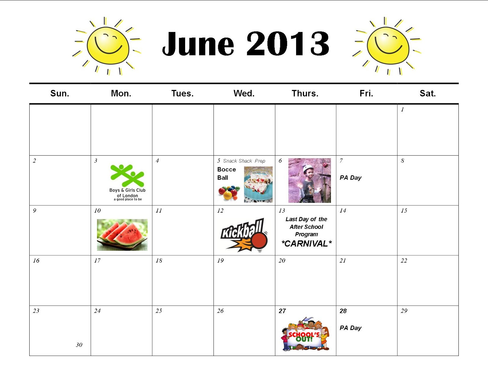 "Result Calendar June : Search results for ""june workout calendar printable"