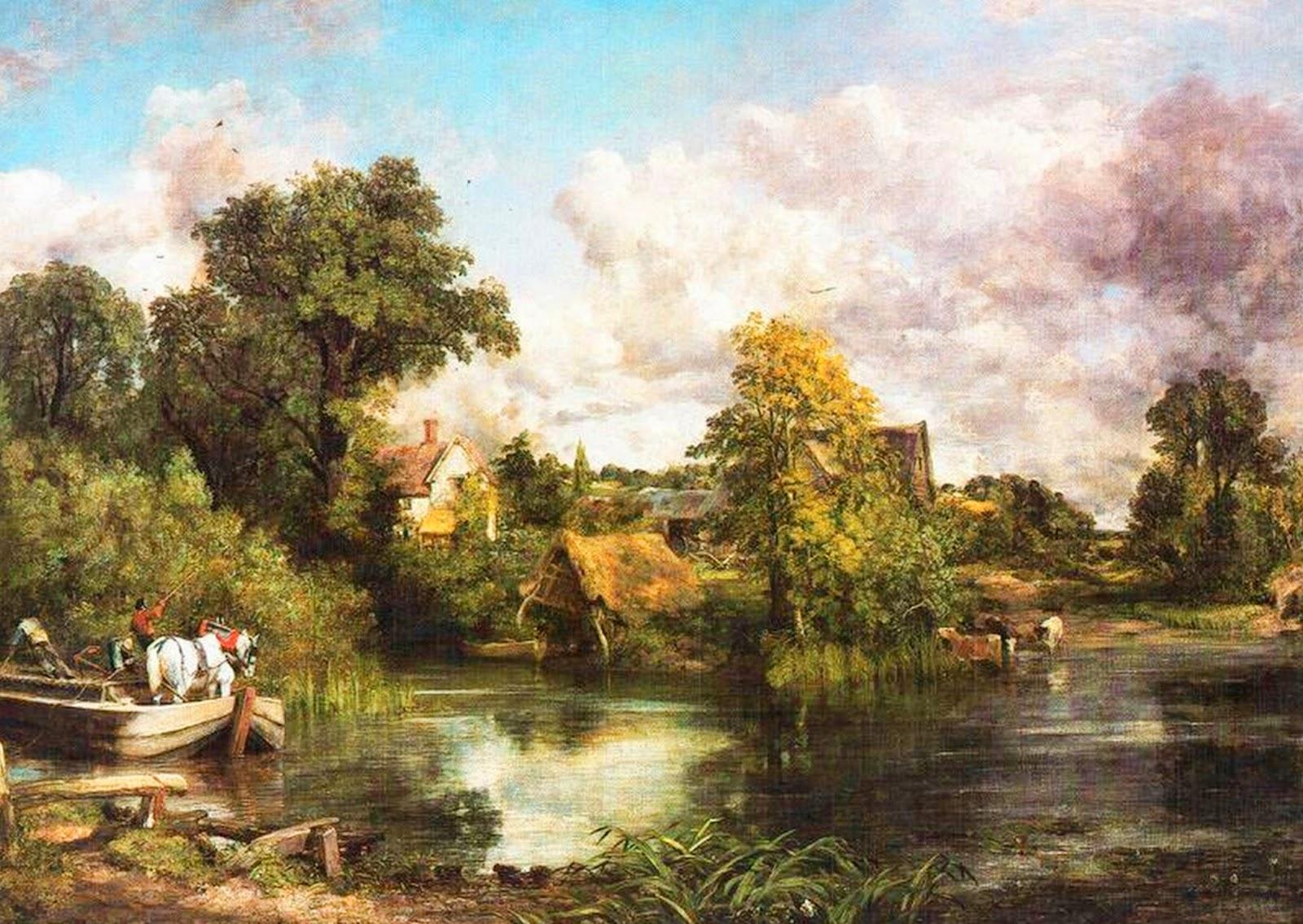paisajes-clasicos-campesinos-de-Europa-cuadros-al-oleo-foto