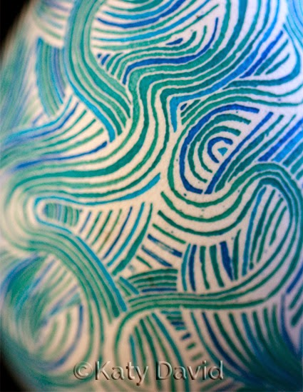 ©Katy David Friday Egg: Torsion #2 Blues