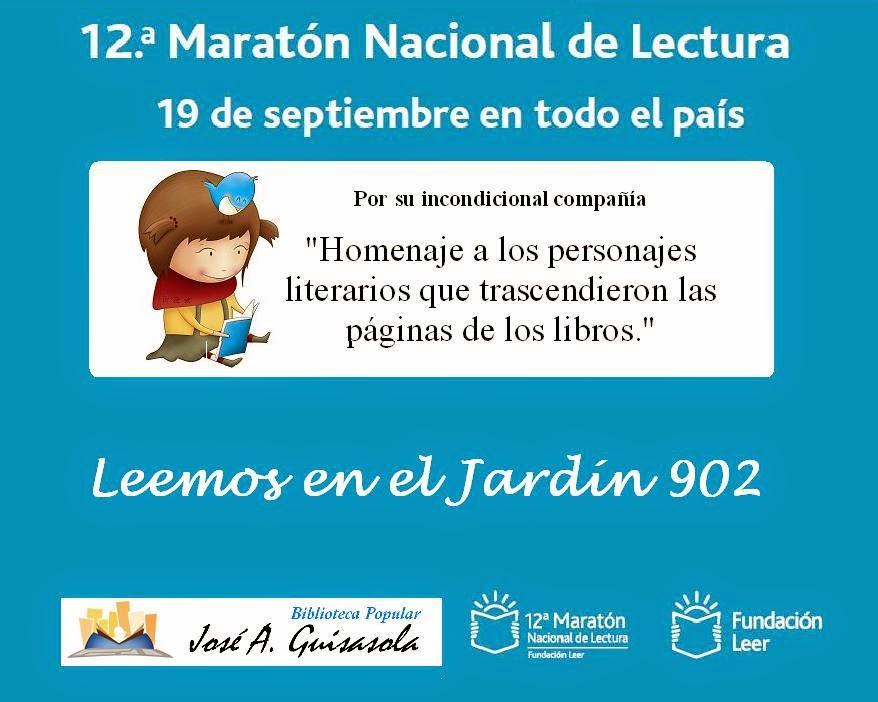 Kilómetros de historias - 12a. Maratón Nacional de Lectura - Biblioteca  El Perdido