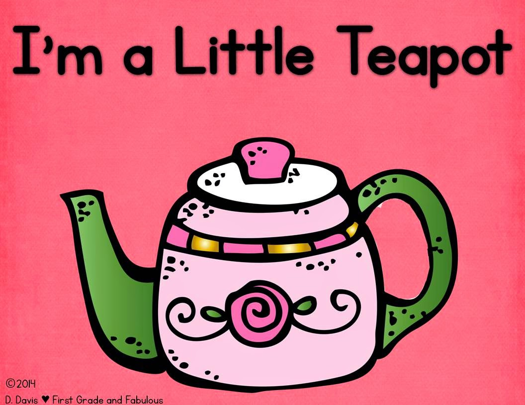 I'm a Little Teapot Freebie--First Grade and Fabulous