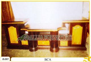 Bufet Tv Model Ukiran Tipe BCA