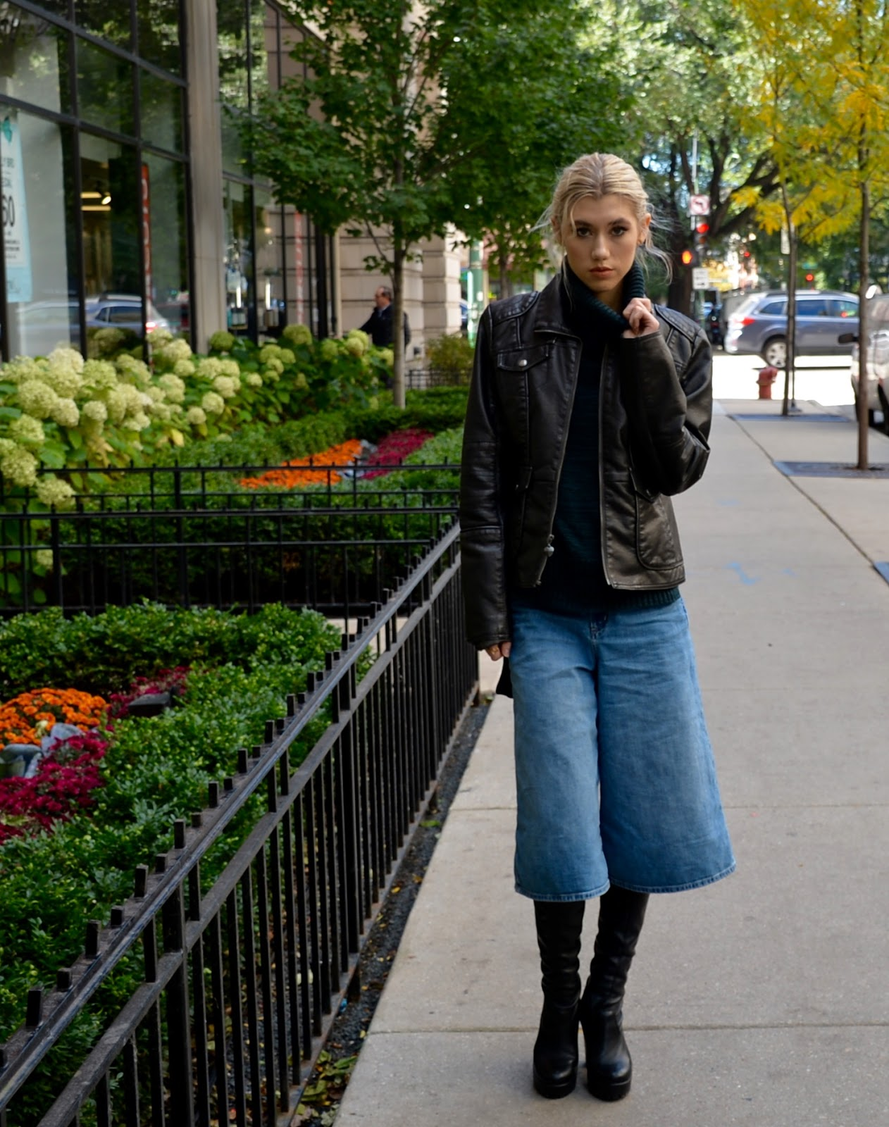 the culottes are coming with | mermaid waves | chicago fashion