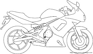 Dibujos de Motos