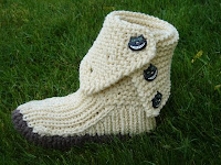 Crocheted Boots Pattern7