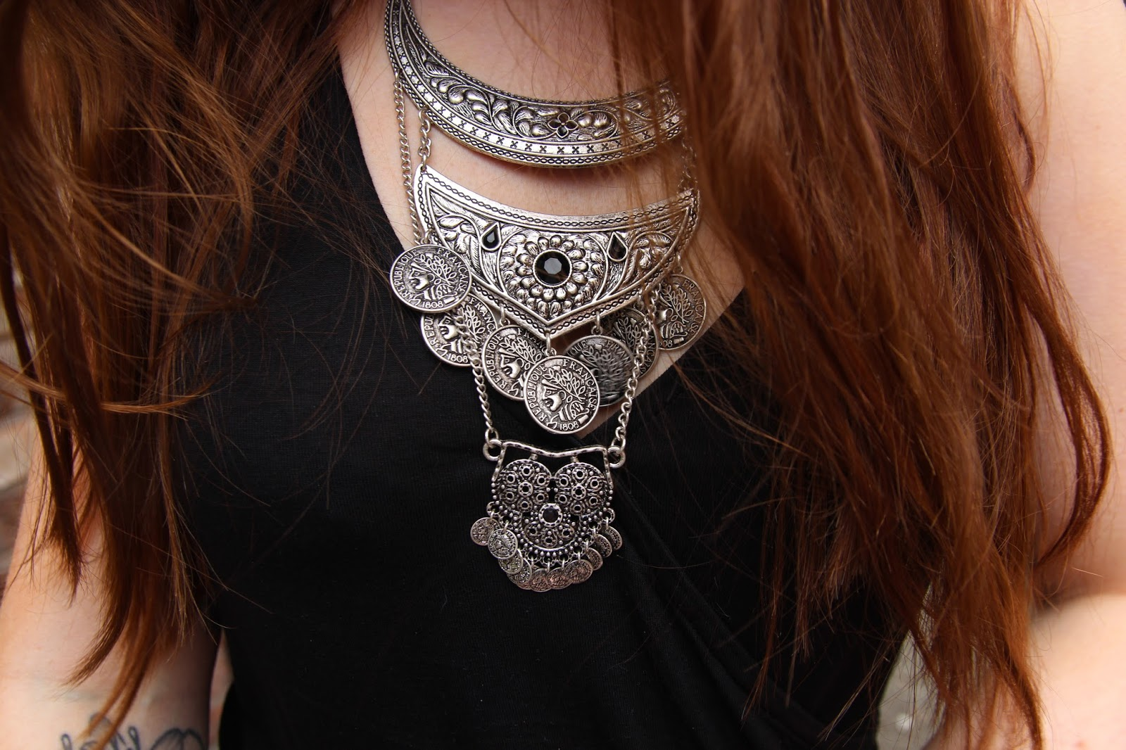 H&M Boho Festival Necklace