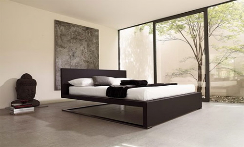 Minimalist bedroom and glamorous furniture bed for Minimalist bedroom furniture