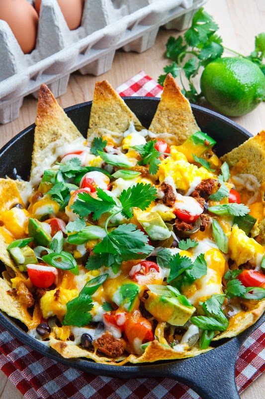 Chorizo and Egg Breakfast Nachos