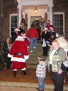 Bowie,Maryland,Christmas Tree Lighting,Belair Mansion,Santa Claus,Mrs. Claus,Bowie City Council