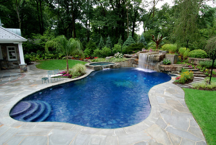 Swimming pool design home design for Swimming pools for homes