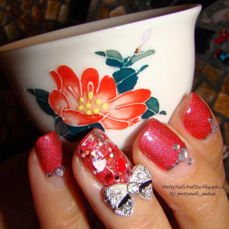 prettynailsandtea.blogspot.ca | Avon Cosmic Polish