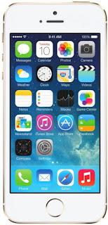 Мобильный телефон Apple iPhone 5s 16Gb как новый (золотистый)