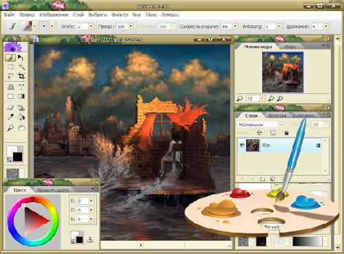 Artweaver: Alternatif Pengganti Photoshop