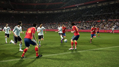 PES 2012 March DLC - Spain vs. Germany
