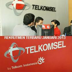 Lowongan Kerja 2013 Telkomsel 2013 Periode Januari Bidang Pemasaran & Teknik Di Palembang