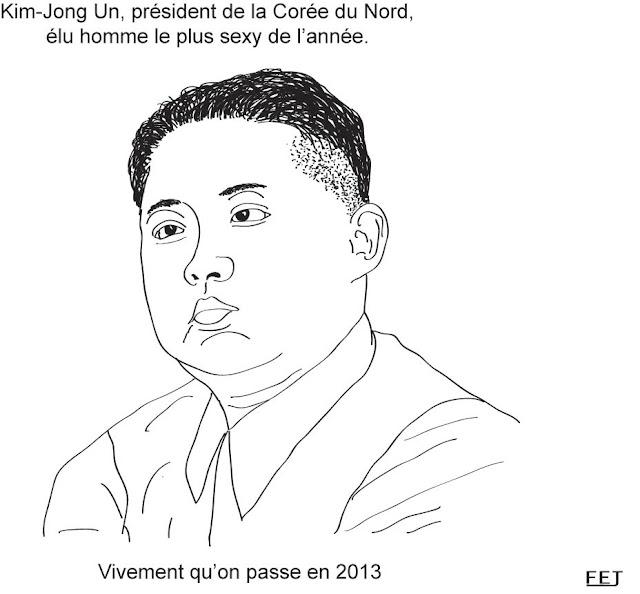 Kim Jong-Un élu l'homme le plus sexy de l'année. Vivement 2013