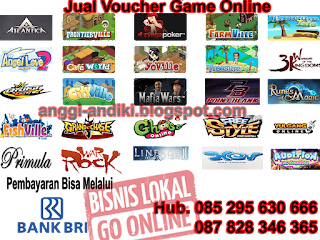 Jual Vaucher Game Online Murah