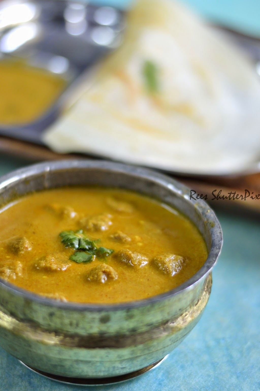 soya chunks curry fro chappathi, soya chunks recipe, meal maker recipes,