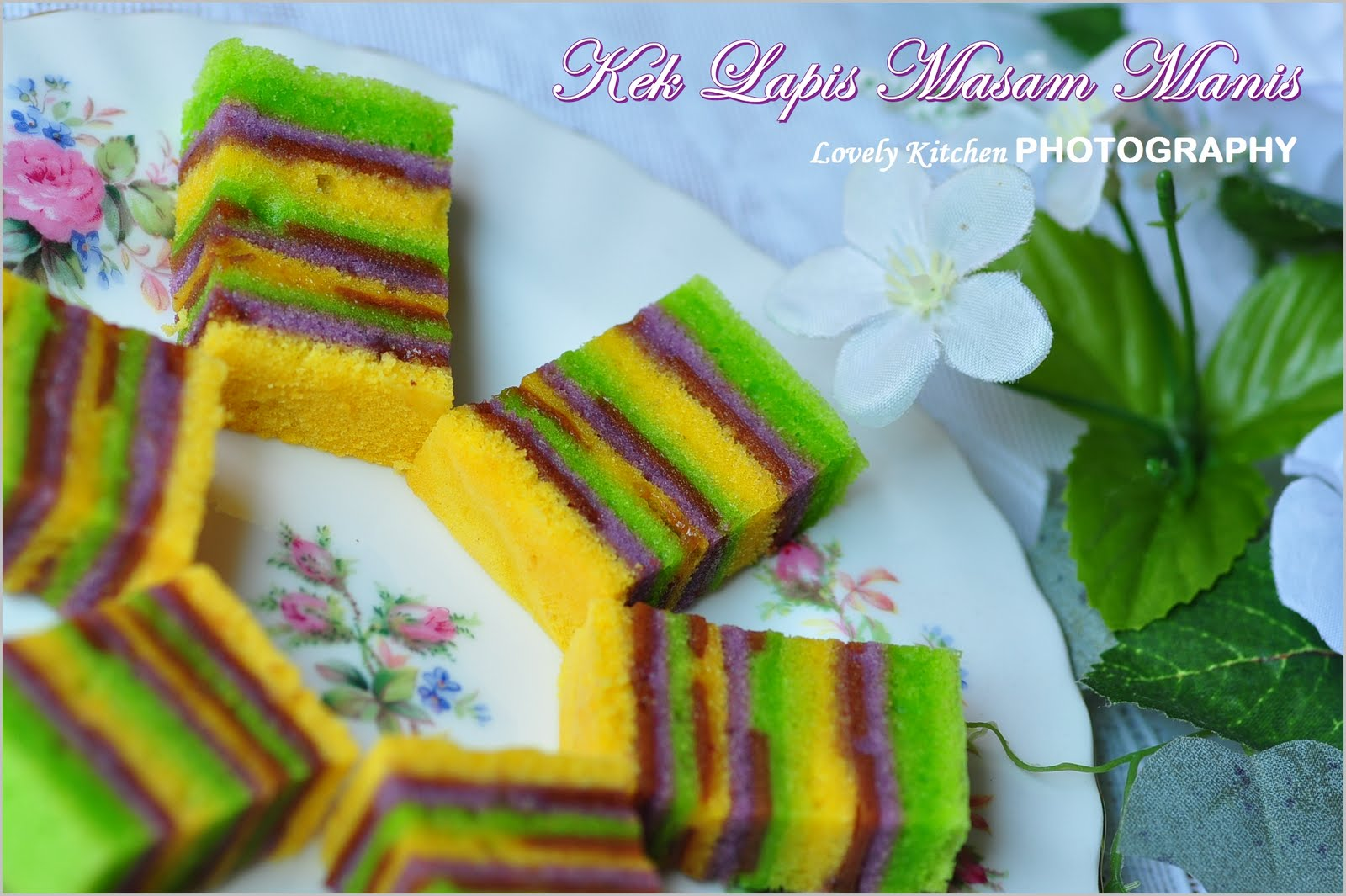 E-NA LOVELY KITCHEN ^_^: :-> Kek Lapis Masam Manis Kukus ...