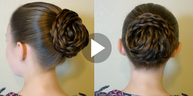 How To Make Elegant Textured Updo Hairstyle, See Full Tutorial