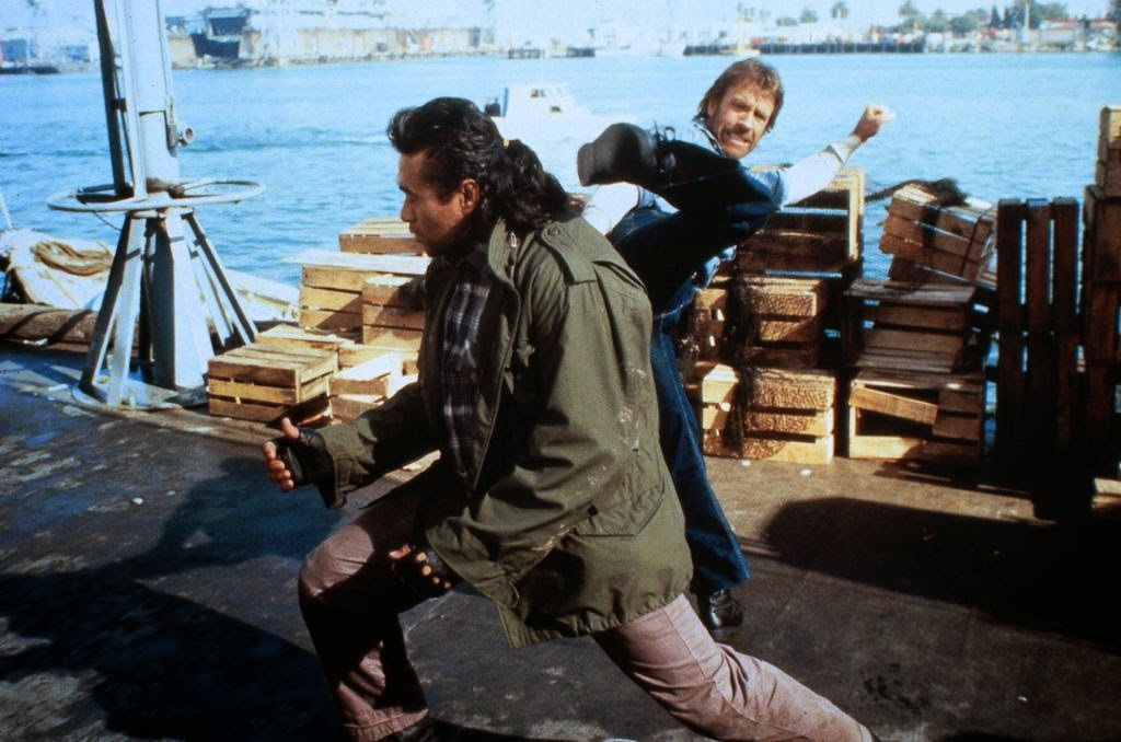 Branscombe getting his butt handed to him in Hero and the Terror with Chuck Norris