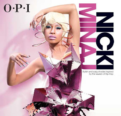 Collection de vernis OPI x Nicki Minaj